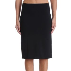 Jil Sander Black Wool Pencil Skirt 8